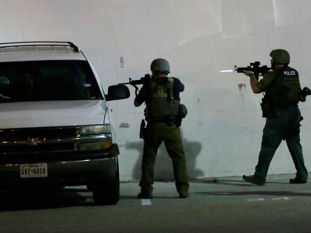 Ataque aconteceu na quinta-feira durante protesto em Dallas (Foto: LM Otero/AP)