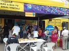Caravana tira dúvidas sobre o fim do sinal analógico de TV em Goiânia