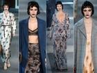 Louis Vuitton apresenta coleção cheia de mistério e erotismo na Semana de Moda de Paris