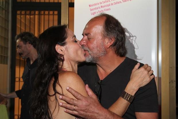 Claudia Mauro e Paulo Cesar Grande (Foto: Anderson Borde/AgNews)