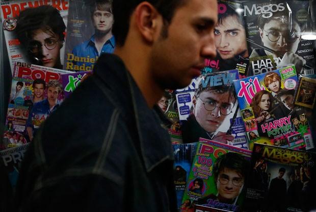 Coleção de Vargas inclui revistas, roupas e outros itens relacionados ao personagem (Foto: Edgard Garrido/Reuters)