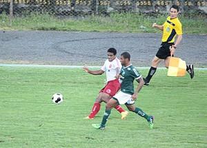 Brasília e Luverdense Copa Verde Taquatinga (Foto: Assessoria/Luverdense Esporte Clube)