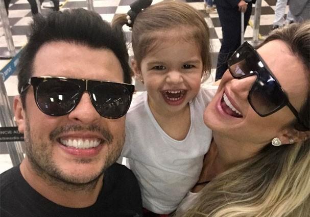 Ceará, Valentina e Mirella Santos (Foto: Reprodução/Instagram)