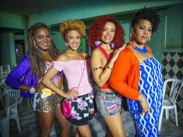 As quatro amigas serão exemplos de mulheres que correm atrás do que querem (Foto: Alex Carvalho / TV Globo)