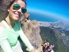 Carla Morone sobe Pedra da Gávea e dá dicas para aventureiros (Arquivo Pessoal)