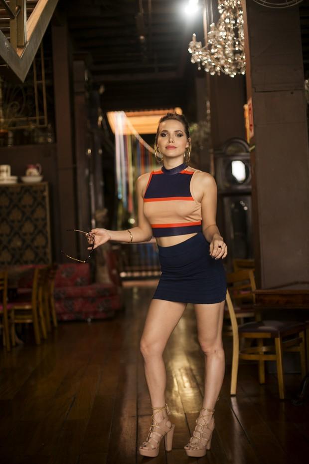 Letícia Colin vive a Paty na novela A Regra do Jogo  (Foto: Iwi Onodera)