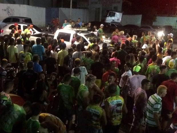 Após briga e morte, festa de carnaval de Santa Quitéria foi cancelada (Foto: A Voz de Santa Quitéria)
