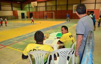 Por falta de mesário, não tem última rodada do 1º turno do Futsal Sub-9