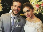 Jayme Monjardim posta foto do casamento do filho, Jayme Matarazzo