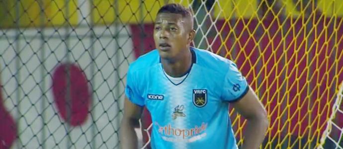 Mota, goleiro do Volta Redonda, foi um dos destaques contra o Flamengo (Foto: Reprodução/Rede Globo)