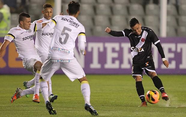 santiago Montoya vasco santos brasileirão (Foto: Marcelo Sadio / Vasco.com.br)