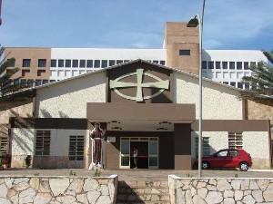 Paróquia São Francisco de Assis, em Goiânia, recebe pagamento de dízimo por cartão de crédito (Foto: Divulgação/Paróquia São Francisco de Assis)