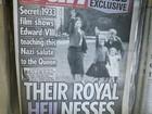 Jornal publica imagens da Rainha Elizabeth II fazendo saudação nazista