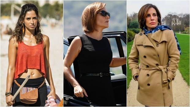 Camila Pitanga, Adriana Esteves e Glória Pires são as protagonistas de Babilônia  (Foto: Divulgação/Gshow)