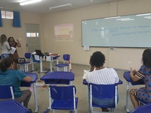 Evento foi realizado no campus da Unir em Ji-Paraná (Foto: Marco Bernardi/ G1)