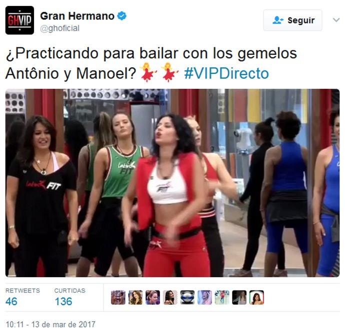 Gran Hermano (Foto: Reprodução/Twitter @ghoficial)
