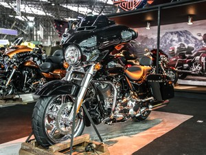 Harley-Davidson Street Glide (Foto: Raul Zito/G1)