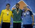 Andre Brasil leva duas medalhas de ouro no 1º dia evento-teste de natação