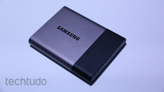 SSD T3, da Samsung (Foto: Marlon Câmara/TechTudo)
