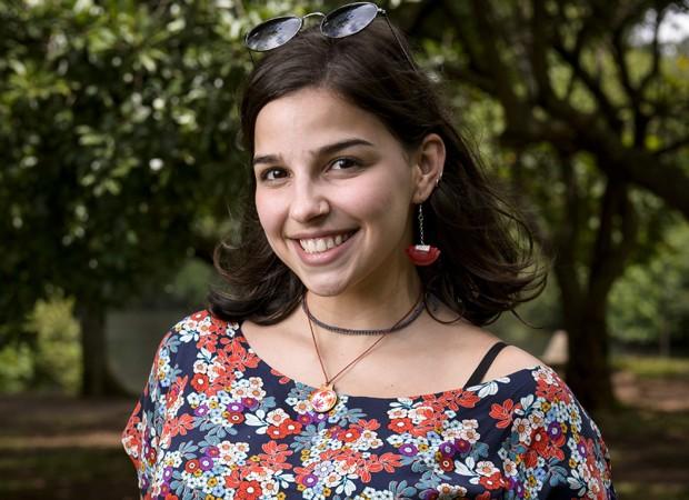 Gabriela Medvedovski vive Keyla (Foto: Divulgação/TV Globo)