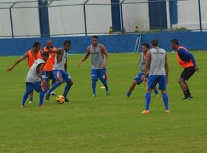 Confiança encerrou preparação para jogo de volta das oitavas  (Foto: Felipe Martins/GLOBOESPORTE.COM)