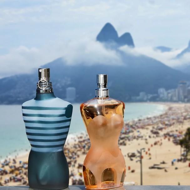 Perfumes Le Male e Classique,  ícones da grife desde os anos 90 (Foto: Reprodução Instagram)
