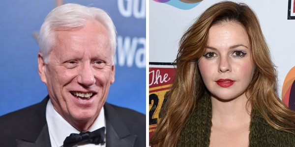 James Woods e Amber Tamblyn (Foto: Getty Images)
