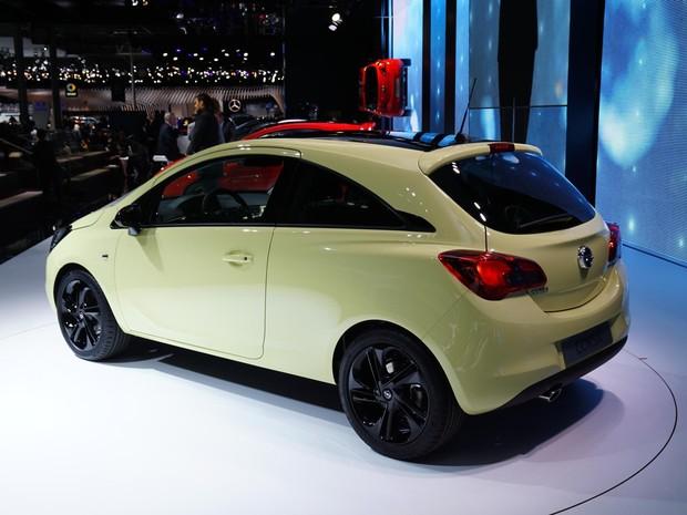 Opel Corsa chega à 5ª geração no Salão de Paris (Foto: Divulgação/Newspress)