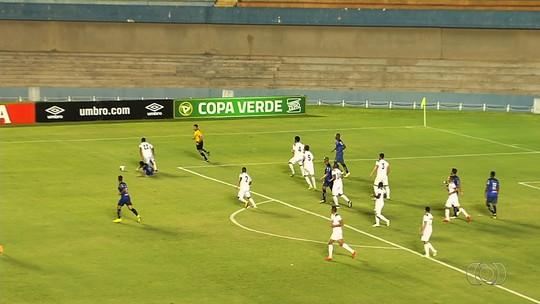 Gama vence a Aparecidense por 3 a 1 no jogo de ida da semi da Copa Verde