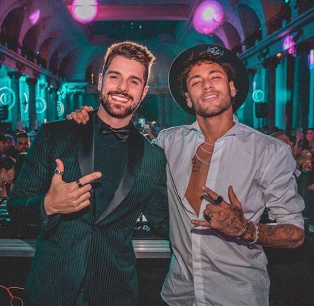 Alok e Neymar (Foto: Reprodução)
