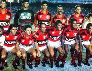 Edu Marangon no Flamengo (Foto: Arquivo Pessoal)