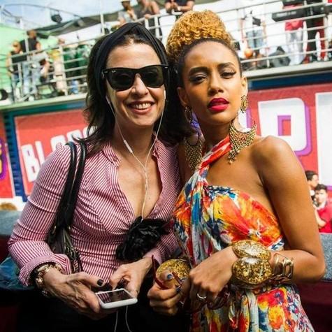 Fernanda Torres e Taís Araújo (Foto: João Miguel Junior/ TV Globo)