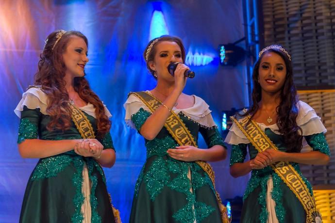 Corte Galpão Crioulo Três Coroas (Foto: Maicon Hinrichsen/RBS TV)