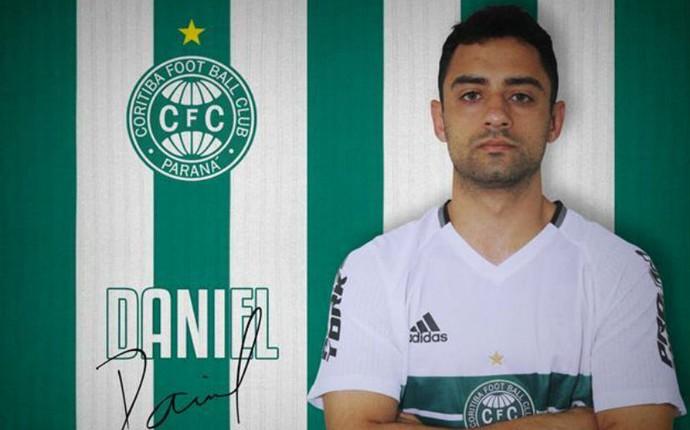Daniel Coritiba (Foto: Divulgação/ Coritiba)