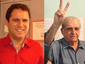 Os candidatos Edivaldo Holanda Jr. e João Castelo disputarão o 2º turno em São Luís (Foto: Montagem/G1)