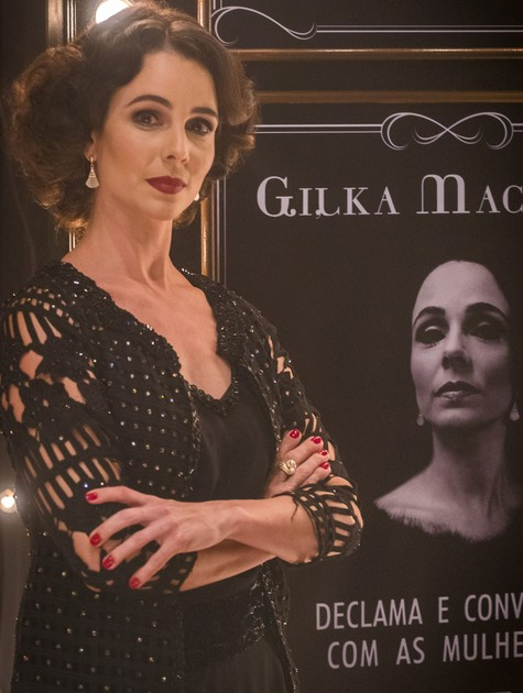 Miriam Freeland será a poetisa Gilka Machado em 'Tempo de amar' (Foto: Paulo Belote/TV Globo)