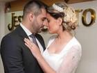 Andressa Urach se declara ao marido com foto de casamento: 'Meu príncipe'