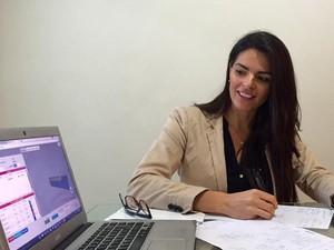 Tatiana Mello é sócia da JettaSoft, statup especializada em soluções logísticas  (Foto: Tatiana Mello/Arquivo pessoal)