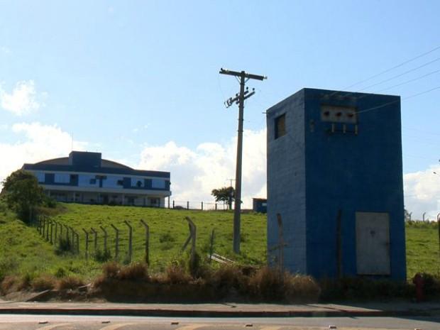 Área de empresa onde acidente ocorreu, em Viana (Foto: Reprodução/ TV Gazeta)