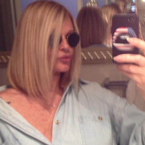 Monique Evans exibe novo corte de cabelo (Foto: Reprodução/Instagram)