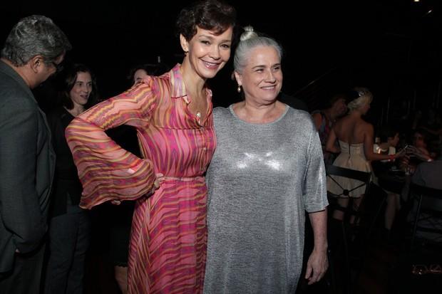 Júlia Lemmertz e Vera Holtz (Foto: Marcello Sá Barreto/AG News)