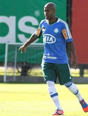 Marcos Assunção no treino do Palmeiras (Foto: Ag. Estado)