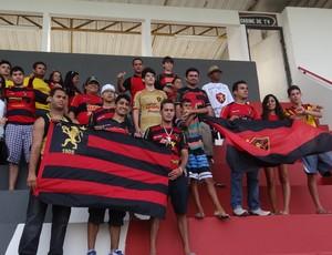 Torcida do Sport (Foto: Elton de Castro/Globo Esporte.com)