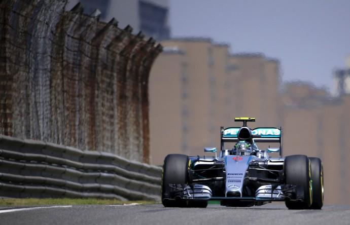 Nico Rosberg Mercedes Treino Classificatório GP da China (Foto: Reuters)