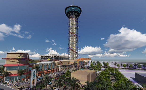 montanha-russa skyscraper  (Foto: Divulgao)