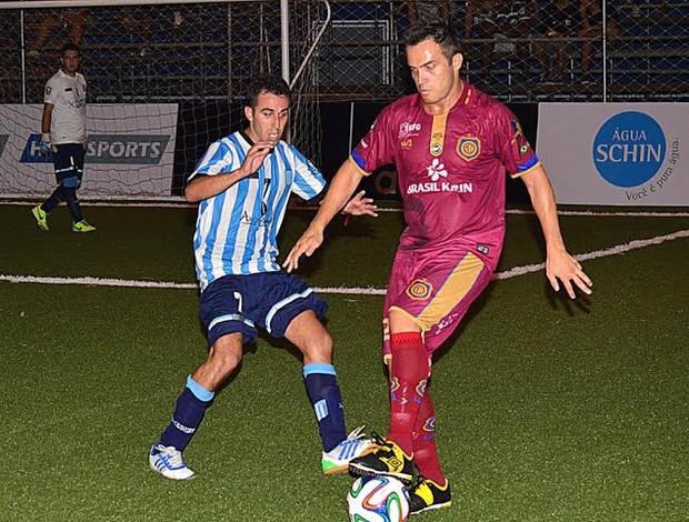 Falcão no futebol 7 (Foto: Davi Pereira/Jornal F7.com)
