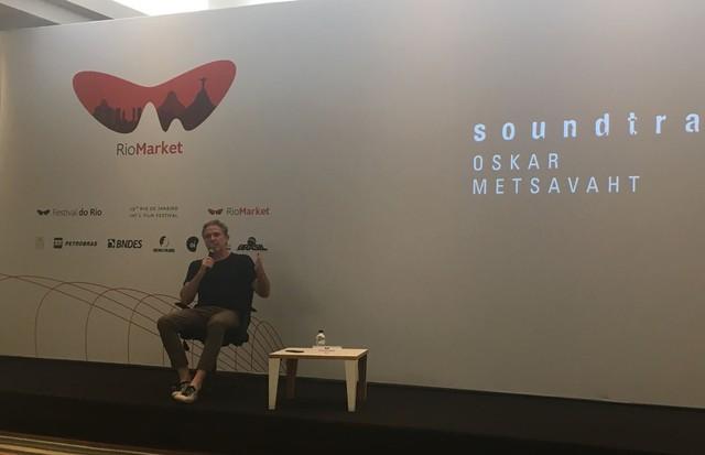 Oskar Metsavaht na palestra do RioSeminars (Foto: Divulgação)
