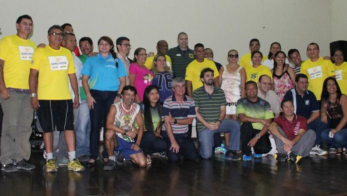 Marcelo Negrão deu palestra para mais de 250 pessoas, em Manaus (Foto: Gabriel Mansur)