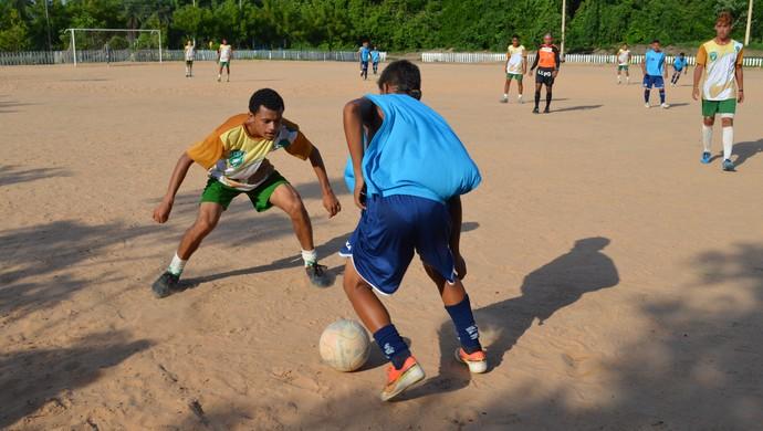 São Francisco e Tapajós fazem amistoso no Parque da Cidade. (Foto: Weldon Luciano/GloboEsporte.com)