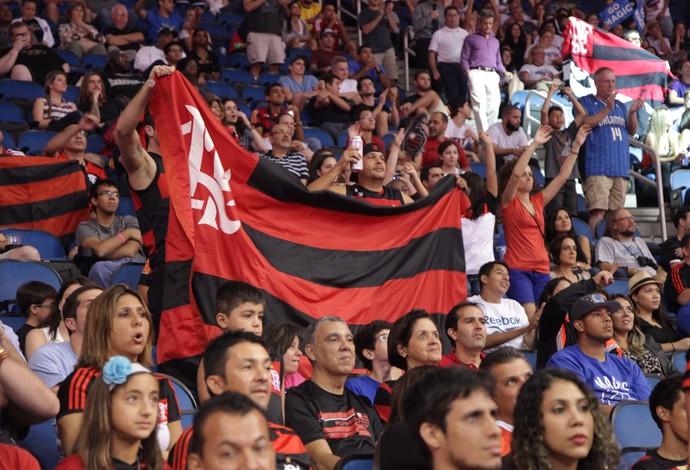 Orlando x Flamengo basquete pré-temporada NBA  (Foto: Pedro Veríssimo)